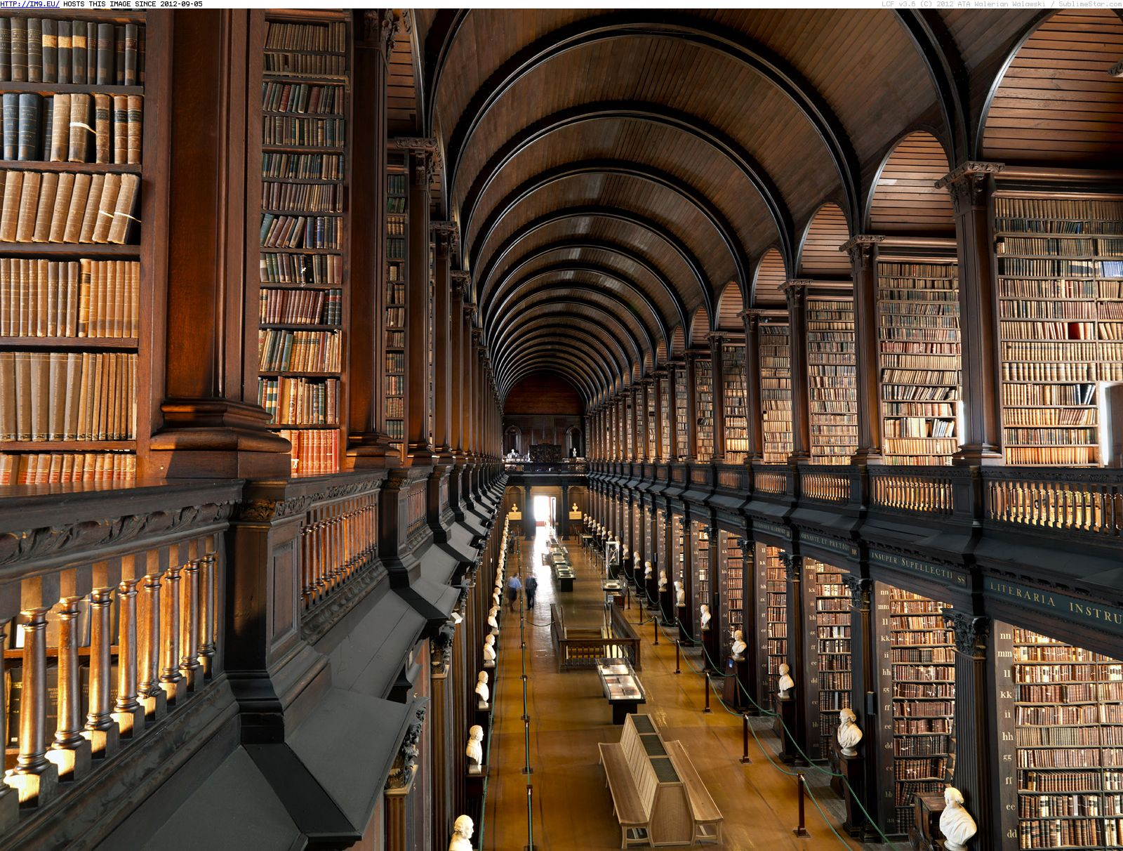 the long room old library trinity college dublin ireland
