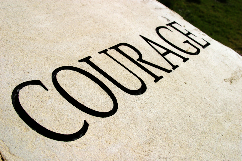 Character traits series COURAGE